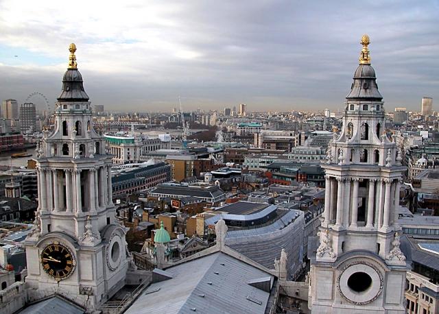 Достопримечательности Лондона: собор Св. Павла