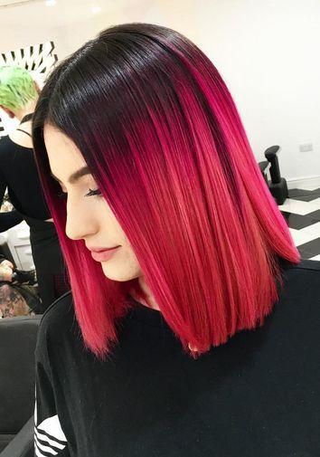 Рожеве фарбування 2021 і рівний зріз