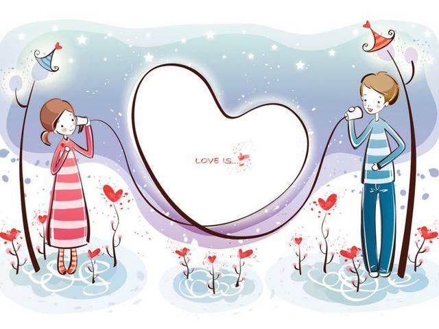 Открытки влюбленным с Днем Святого Валентина