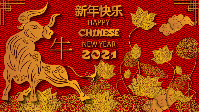 Поздравления с Китайским Новым годом 2021