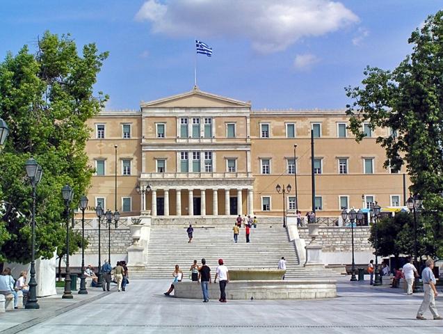 Цікаві місця Афін: Площа Синтагма