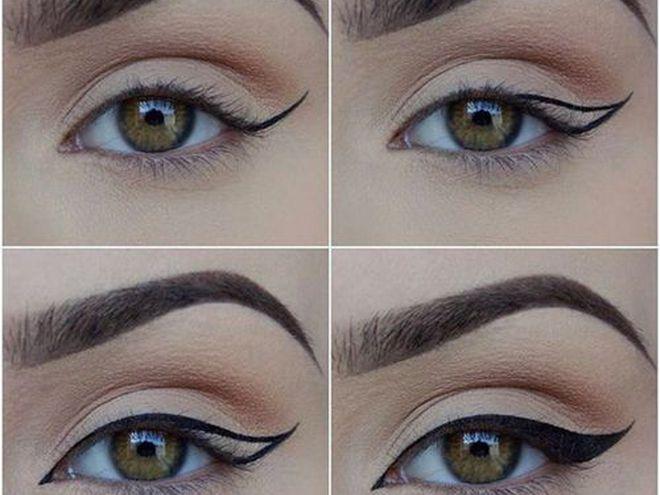 Как правильно сделать макияж на глазах 810