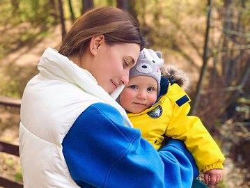 Регіна Тодоренко з сином Майклом