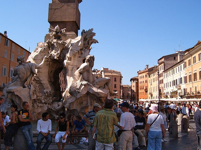 Достопримечательности Рима: Пьяцца Навона