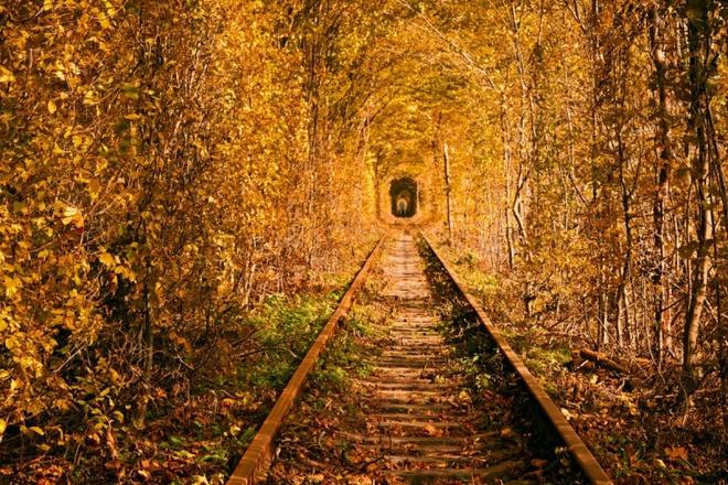 Тунель Кохання: Найромантичніше місце України