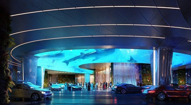В Дубае появится первый в мире отель с тропическим лесом