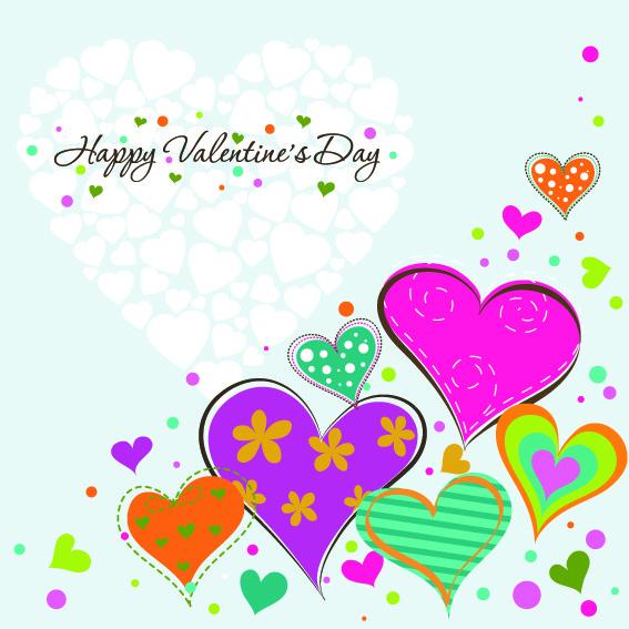 Оригинальная открытка ко Дню Святого Валентина