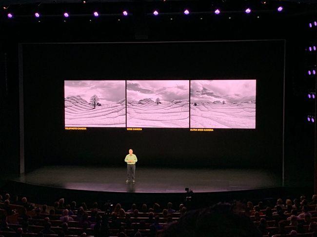 Фото на тройную камеру iPhone 11 Pro: они сделаны с одной точки