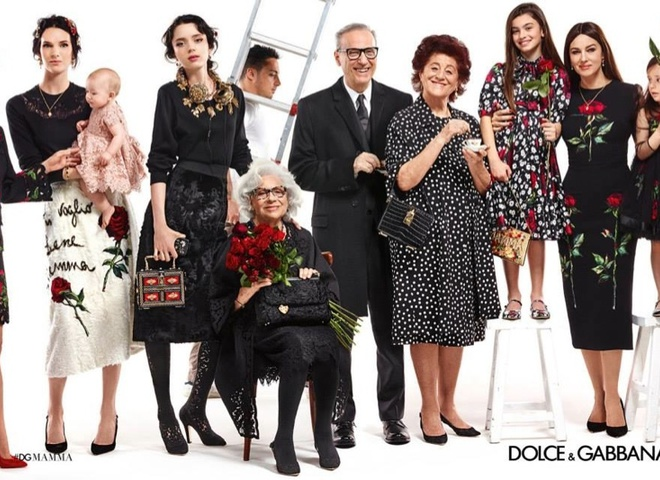 Семейные традиции: Моника Беллуччи в рекламной кампании Dolce&Gabbana