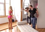 Behind the Scenes of the Victoria's Secret Bombshells in Bloom Shoot