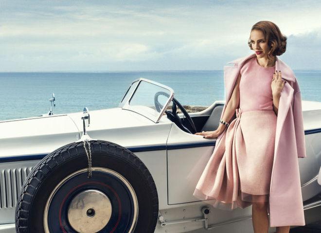 Натали Портман украсила обложку Harper's Bazaar