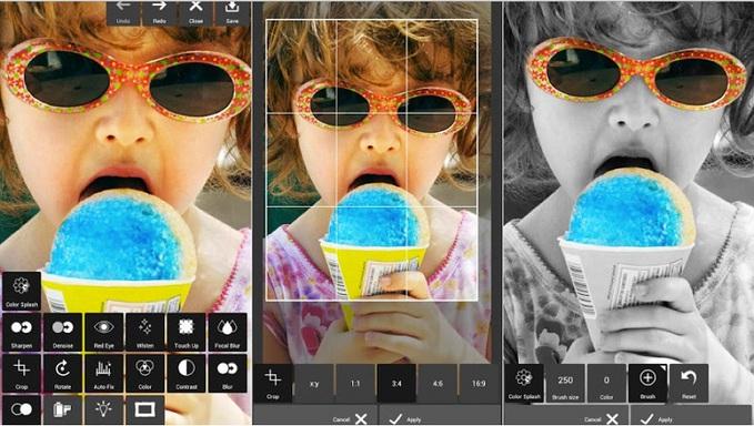 Додатки для редагування фотографій