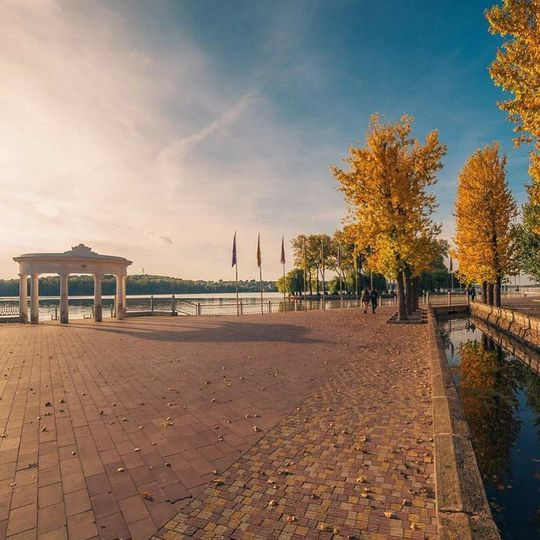 Осень в украинских городах