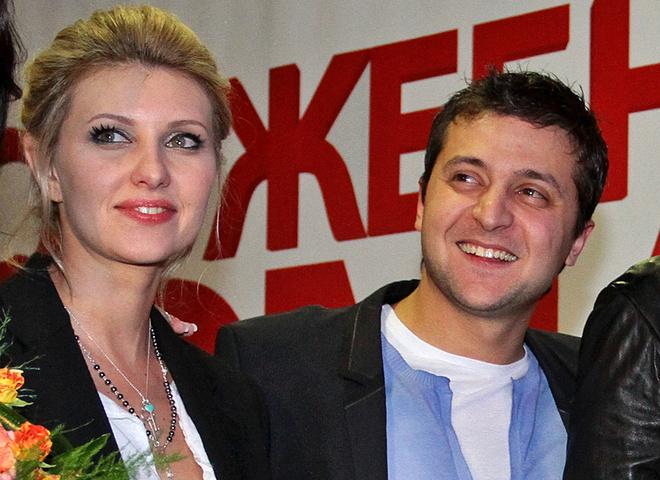 Володимир Зеленський з дружиною Оленою