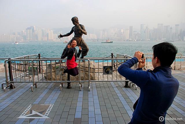 Цікаві місця Гонконгу: Алея зірок