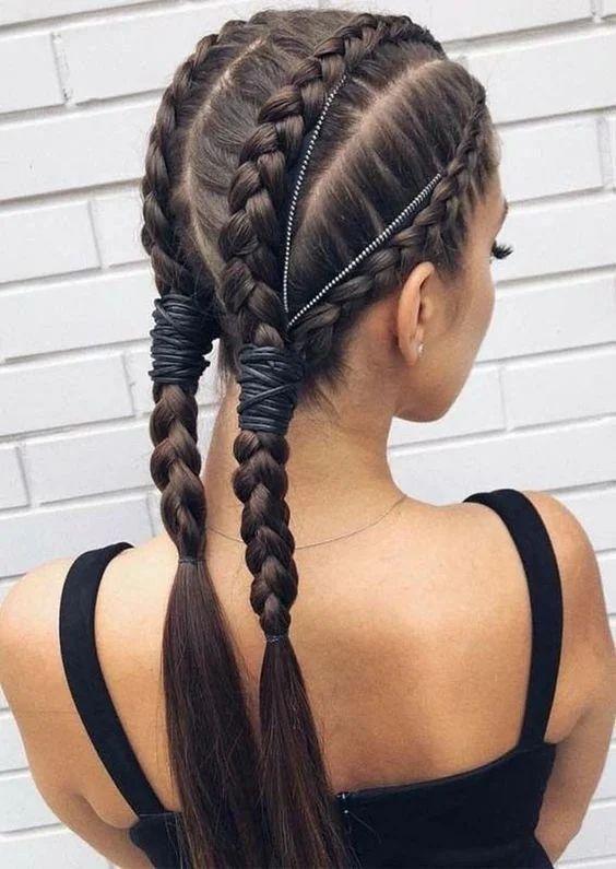 Плетение кос: модные прически на грязные волосы