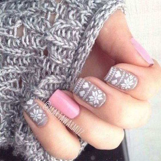 Модний манікюр на зиму 2018