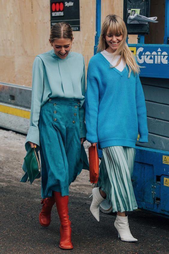Классический синий – главный цвет 2020 Pantone