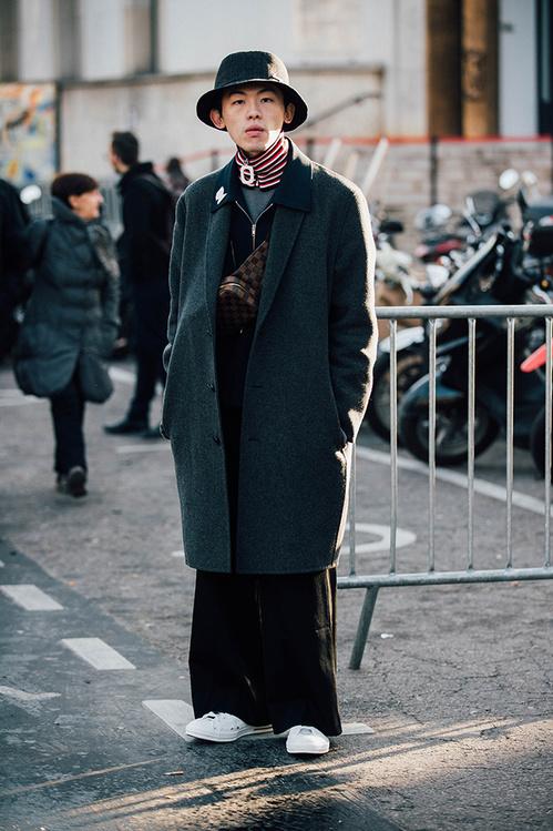 Как выглядеть стильно мужчине: 20+ стритстайл-луков с Недели моды в Париже