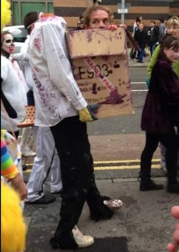 Лучший костюм на Halloween
