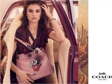 Селена Гомес в рекламной кампании Coach
