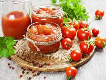 помідори на зиму у власному соку без стерилізації