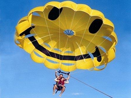 Открытка для парашютиста
