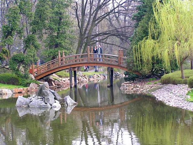 Японський сад в Вроцлаві