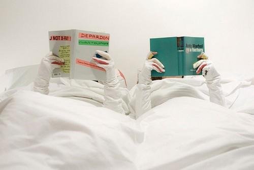 Одеяло с рукавами для чтения