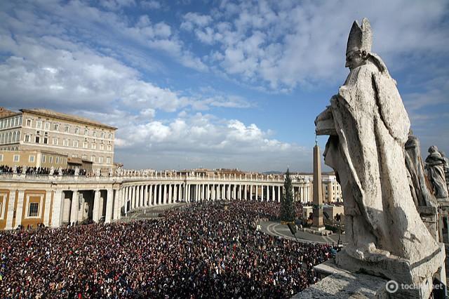 Подорож по міні-країнам: Ватикан