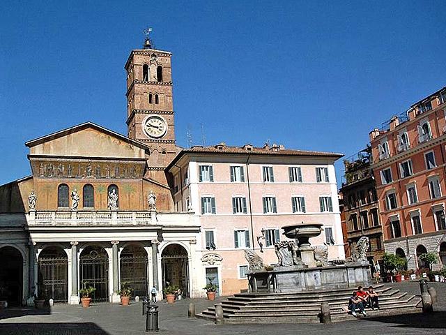 Достопримечательности Рима: Церковь Санта Мария ин Трастевере