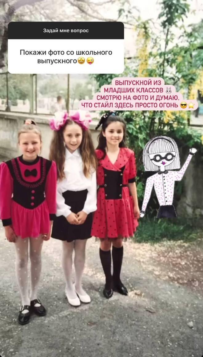 Злата Огневич в детстве