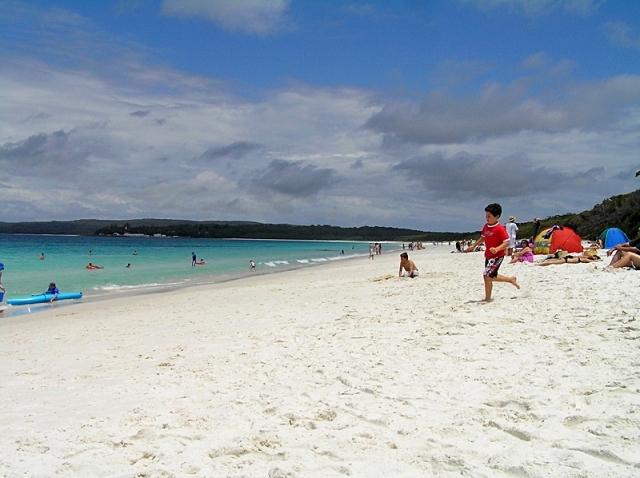 Найкращі пляжі світу: World's Whitest Sand Beach