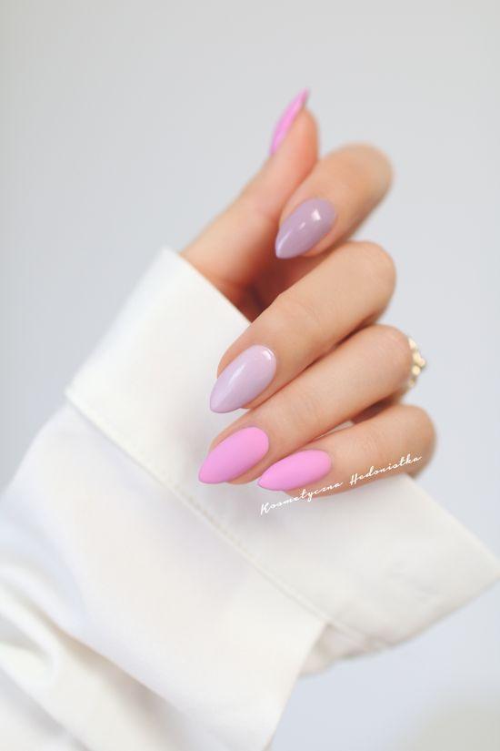 Миндаль — модная форма ногтей