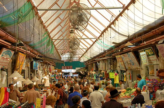 Цікаві місця Єрусалиму: ринок Mahane Yehuda
