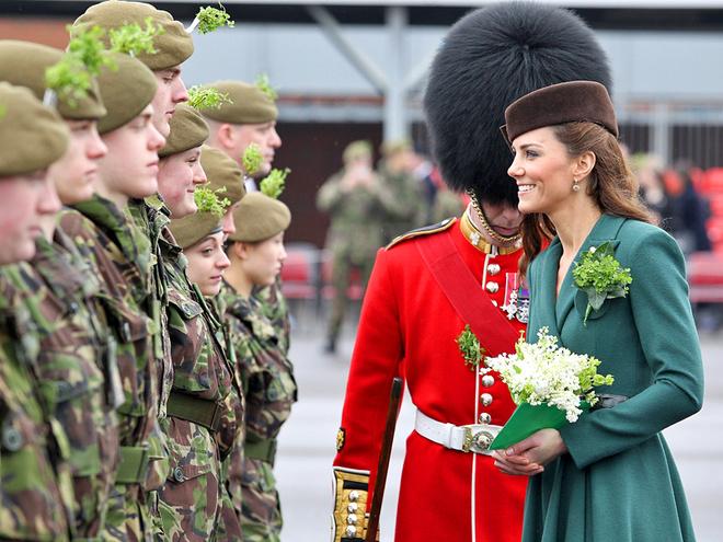 Кейт Миддлтон в ирландской армии