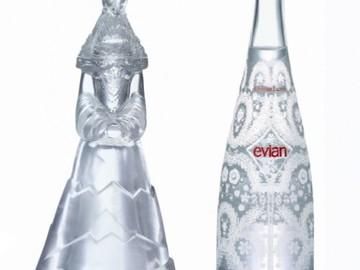 Жан Поль Готье одел… воду Evian