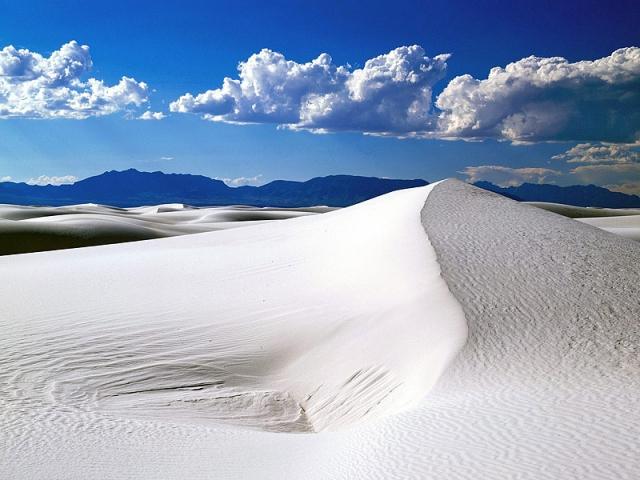 Самі незвичайні пустелі: Білі піски, США