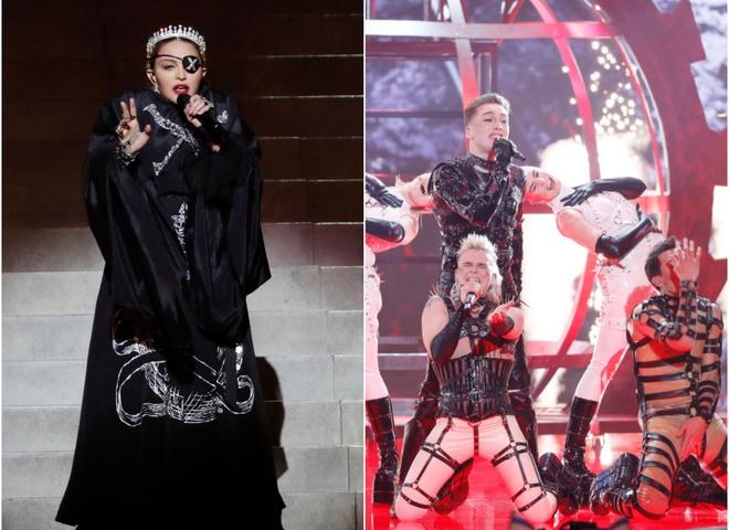 Мадонна и БДСМщики Hatari спровоцировали политический скандал на Евровидении-2019