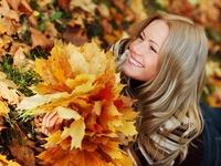 Осень и девушка