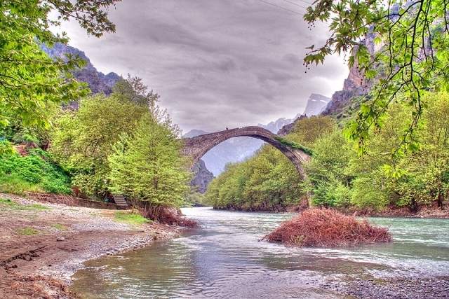 The Old Bridge of Konitsa (Greece)