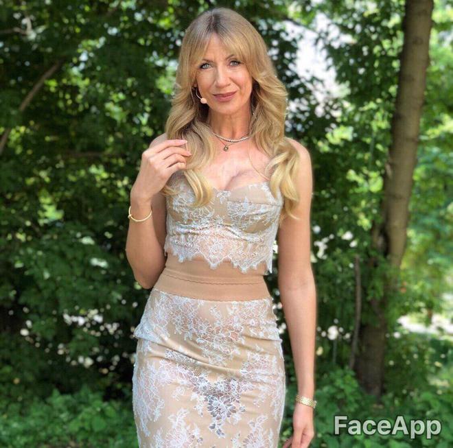 Как Леся Никитюк может выглядеть в старости