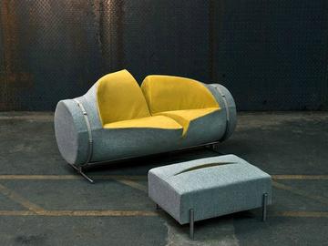 разрезанный диван