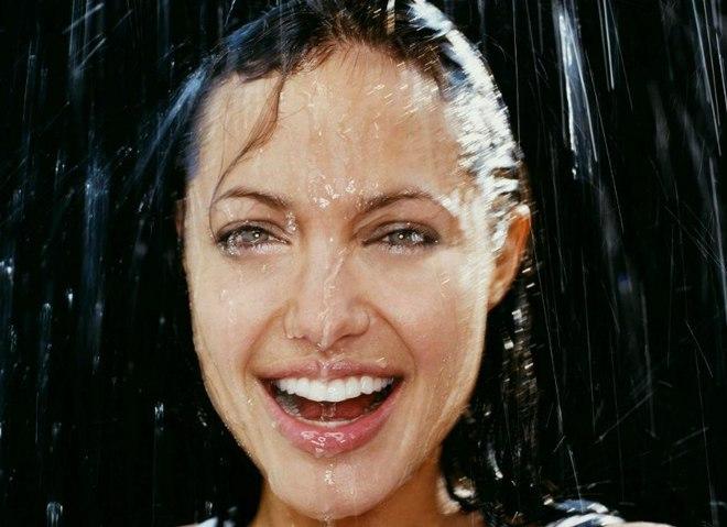 Прическа в дождливую погоду