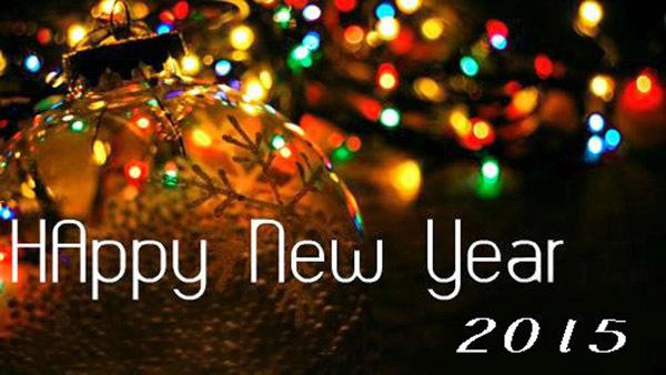 Яркого Нового года 2015