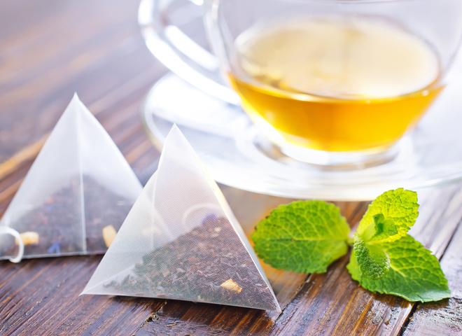 Пакетики чая в уходе за кожей лица