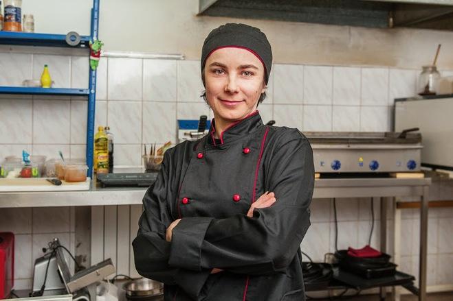 Ірина Долюк, шеф-кухар, Тако з куркою і свининою