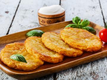 Деруни з картоплі: фото