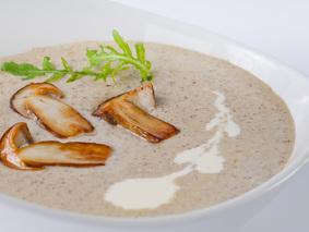 Суп-крем из грибов