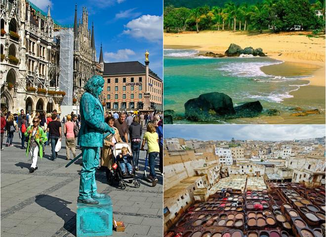 Відпочинок у вересні 2016: куди поїхати за кордоном